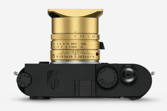 Leica M10-P ASC 100 limited edition camera officially