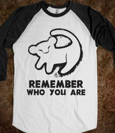 Remember Who Your Are #lionking #disney #simba