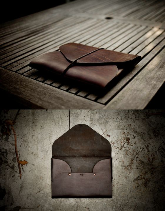 FIELD THEORIES: What do intrepid mountain men from the Rocky West and a superbly crafted leather folio have in common?