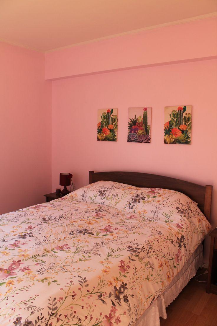 Habitación rosa 1 // Pink bedroom 1