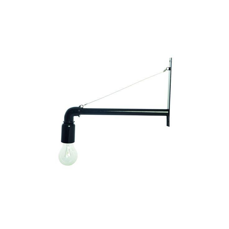 Pipe lampa, svart från House Doctor – Köp online på Rum21.se
