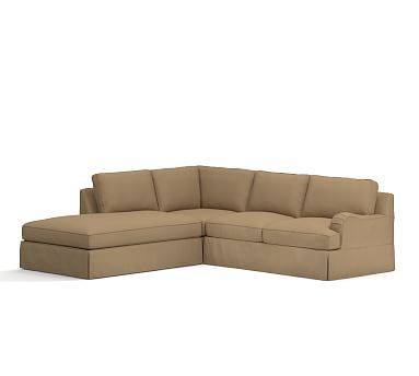 1000 ideas about sectional slipcover on pinterest for Bartlett caramel left corner chaise sectional