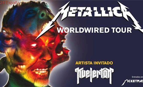 Colapso en la venta de entradas para los conciertos de Metallica en Madrid y Barcelona