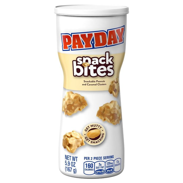 Payday Snack Bites Canister 5.9 oz
