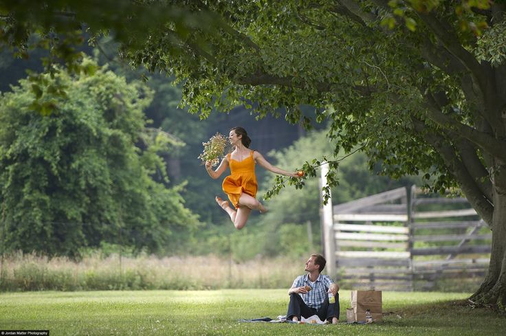 A picnic is always made better with a bit of dancing.