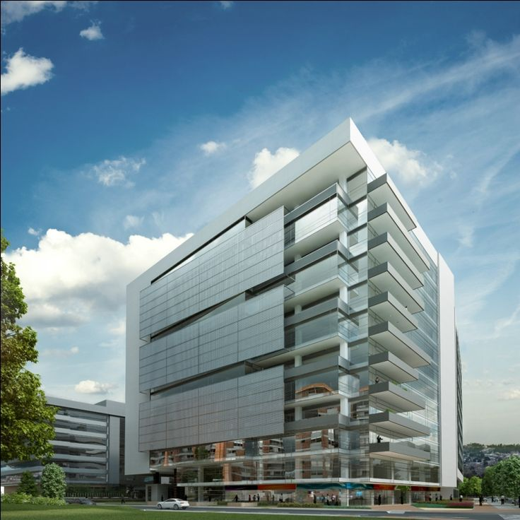 Old Mutual HQ, Bogota  Unitized Curtain Wall Facade + Reynobond Eco Clean