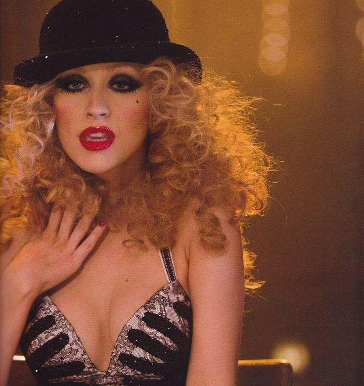 """Christina Aguilera in """"Burlesque"""" movie. Source: http://caguilera.tumblr.com/post/61663248926"""