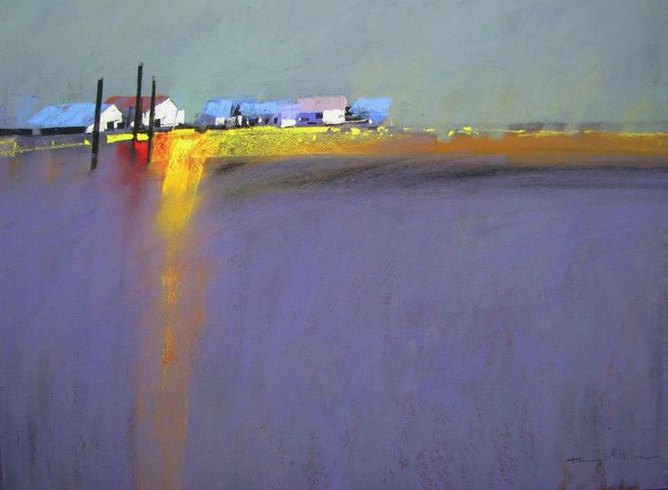 Tony Allain (UK) pastel