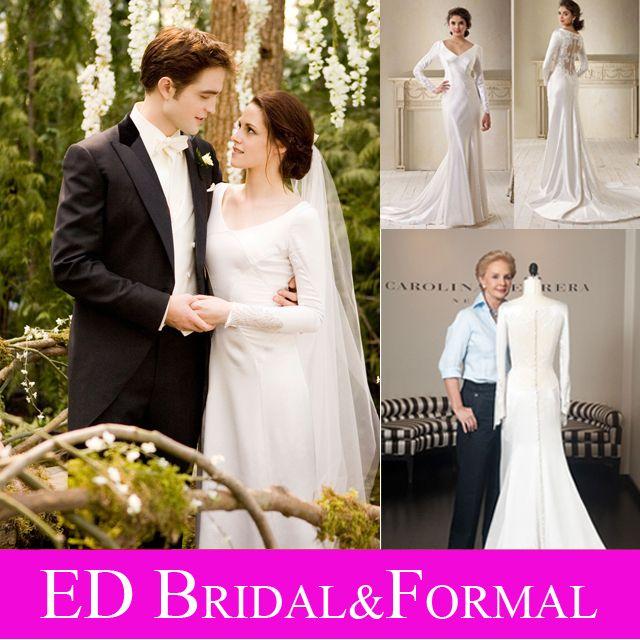 2014 Cheap Elegant Lace Slim A Line Celebrity Wedding Dresses