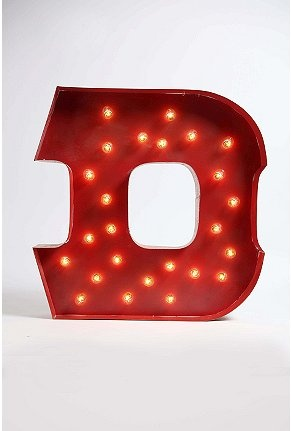 Urban outfitters, String lights and Marquee letters on Pinterest