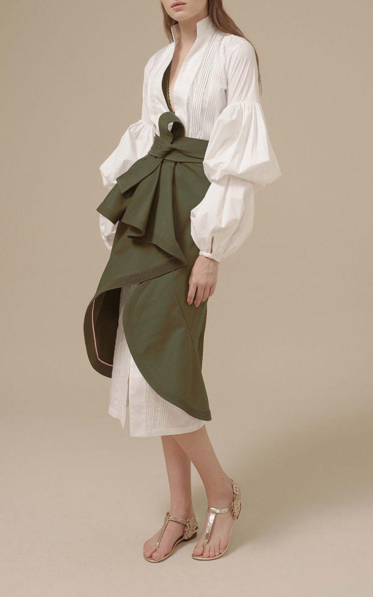 Palomino Puff Sleeve Shirtdress by Johanna Ortiz | Moda Operandi