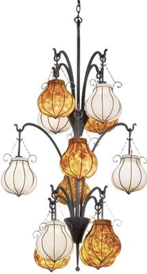 Large Scale Eclectic Chandeliers - Brand Lighting