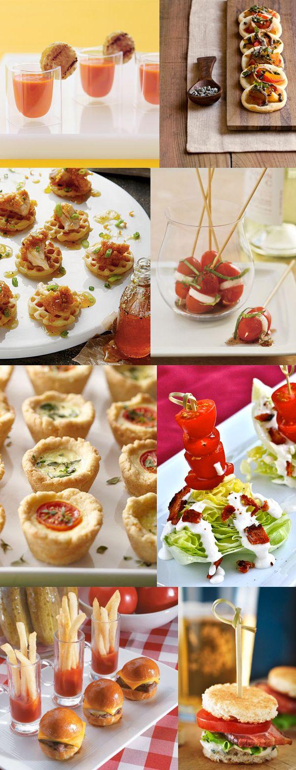 Mini idee per grandi aperitivi #ideacreativa #ricetta