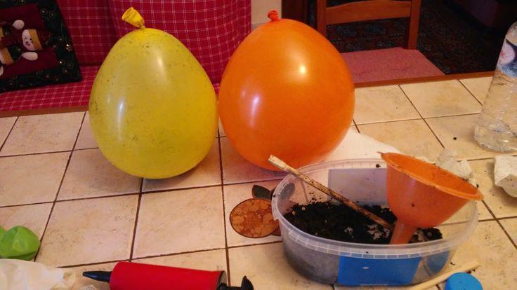 Θερμοκήπιο από Μπαλόνια...D.I.Y! http://mommytzini.blogspot.gr/2016/04/diy.html