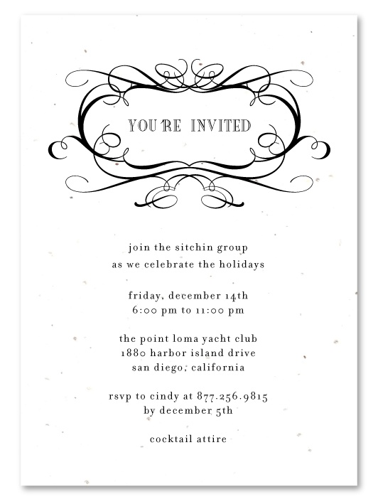 31 best Plantable Gala Business Invitations images on Pinterest - Formal Business Invitation