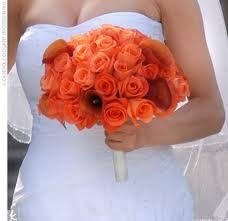 wedding bouquets coral