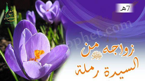 زواج رسول الله صلى الله عليه وسلم من رملة بنت أبي سفيان أم حبيبة 7هـ Lockscreen Allah Plants