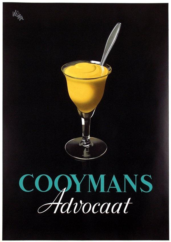 "PG407 ""Cooymans Advocat"" Poster by Jan Wijga (1923)"