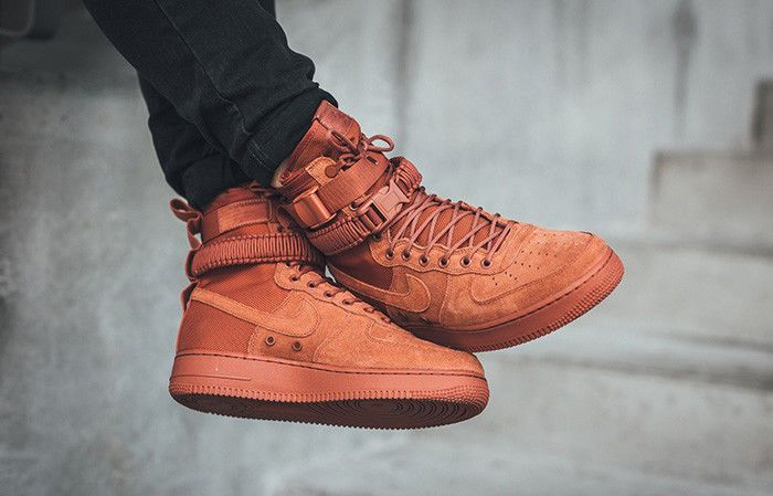 watch a7fb3 fe04f NIKE SF AIR FORCE 1 - DUSTY PEACH LIMITED EDITION SNEAKERS ALL SIZES ...