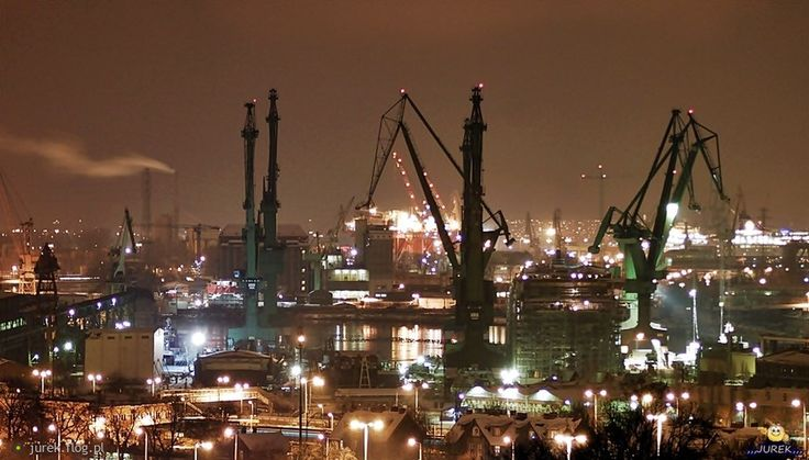 The #magic of #Gdansk #Harbour