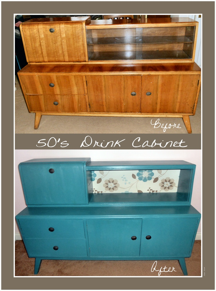 This Was A Cabinet I Picked Up For Less Than The Price Of Pizza And Since  The Orange Y Veneer Was Pitted, Faded And Scratched I Went Ahead And Went  With ...