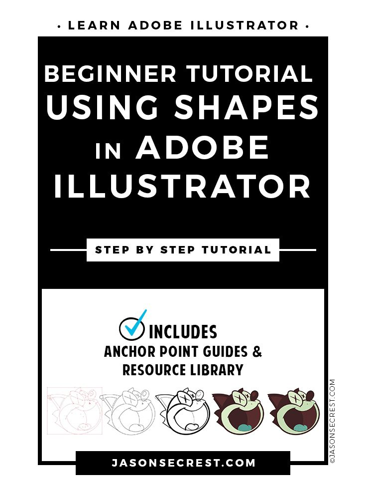 Check out this Adobe Illustrator Tutorial. In this easy to follow tutorial we will be going through step by step to build our character and practice using shapes and the scissor tool. We will be adding flat color using the Live Paint feature and halftone fill effects to complete our cartoon character.