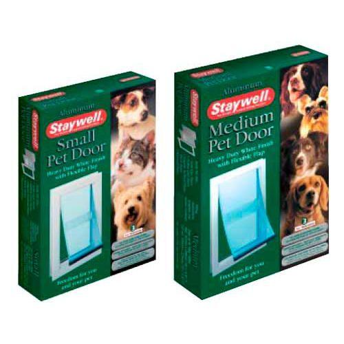 Puerta de aluminio para perros pequeños y medianos Staywell 70.45€