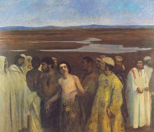 Joseph Sold Into Slavery By His Brothers - (Karoly Ferenczy)