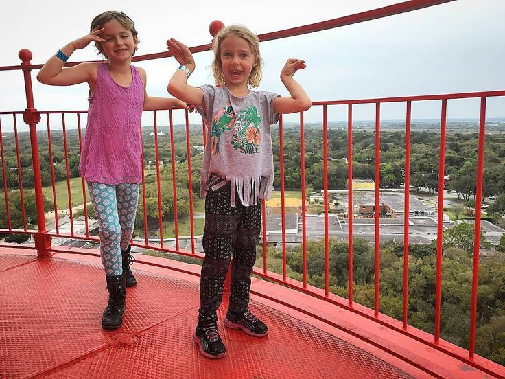 "#PhotoOfTheDay @legrandphoto  0326/16 86/366 - all the LeGrands are finally above the 44"" mark. The girls and I marched up the 219 steps of the lighthouse yesterday with every other springbreaker in Florida. #sta #stafl #staug #staugustinebuzz #igers_staugustine #igersjax #igersflorida #lovefl #lighthouse #219steps #aintscared #springbreak2016 #kids #travel #girls #fun"