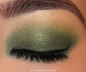 Green Jewel Tone Smoky Eye - My absolute favorite jewel tone color