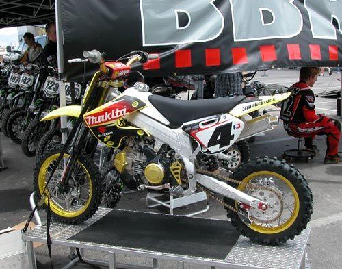 BBR Motorsports Ricky Carmichael pit bike