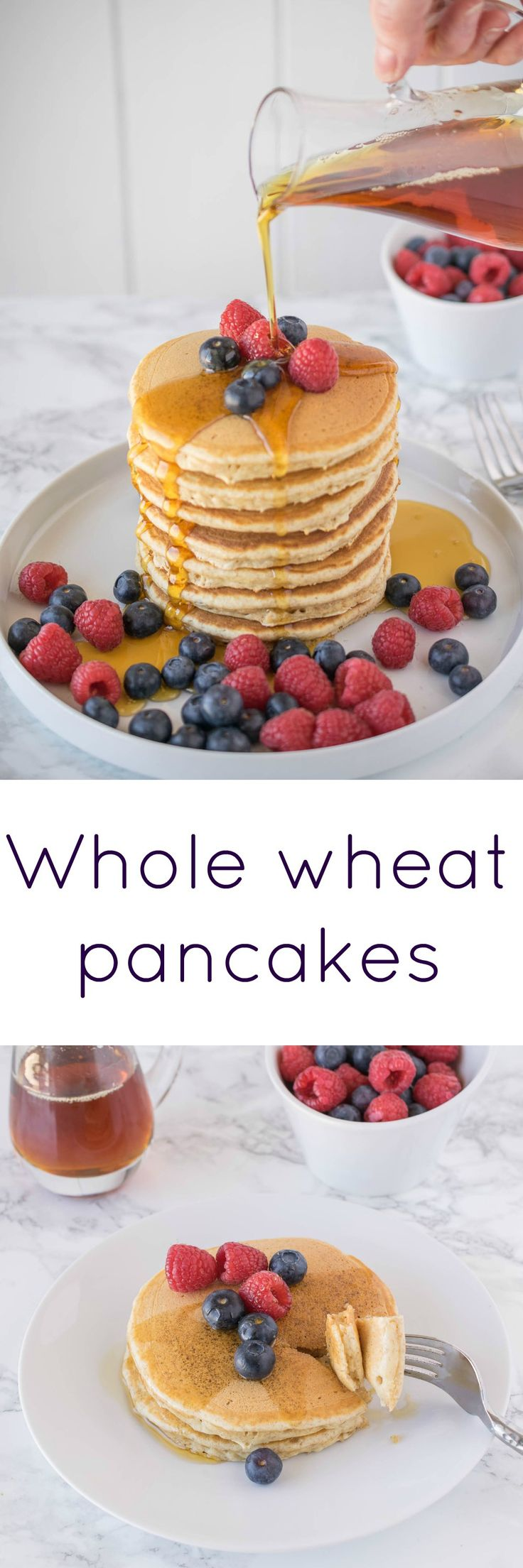 Whole wheat pancakes | Recipe | Whole Wheat Pancakes ...