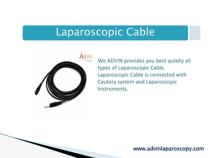 Laparoscopic Cable  We ADVIN provides you best qulaity all types of Laparoscopic Cable. Laparoscopic Cable is connected with Cautery system and Laparoscopic Instruments.