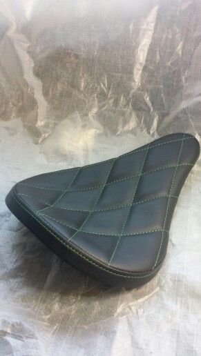 Quilted bobber seat