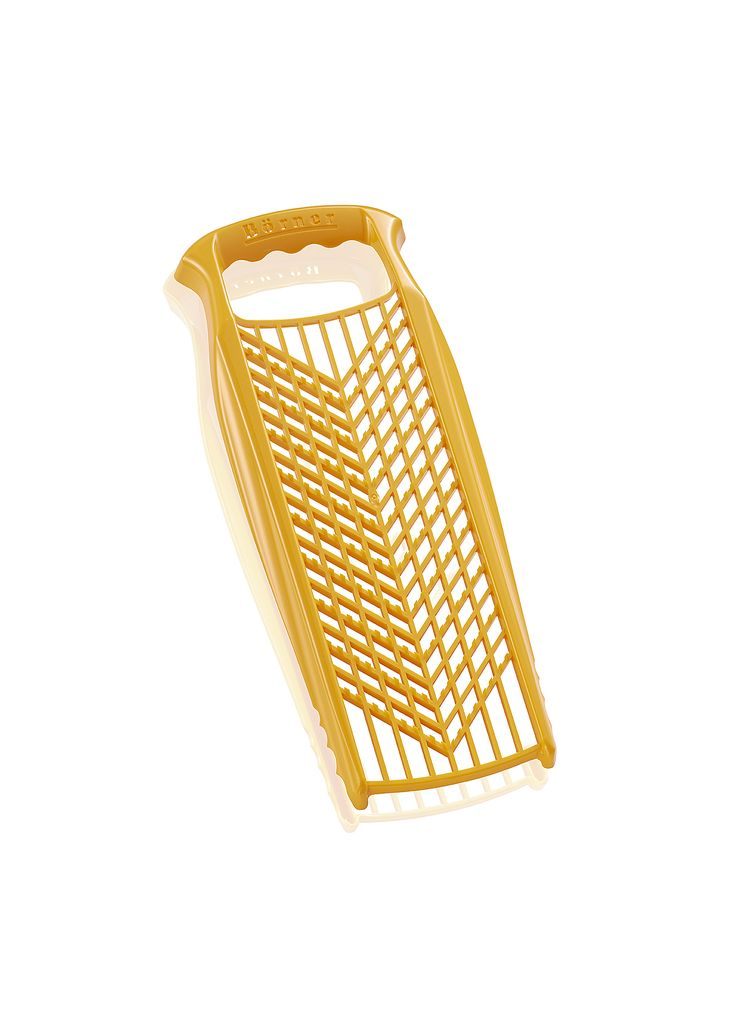 Borner Grater PowerLine  The original Börner PowerLine Grater can be used in both directions and grates fine and coarse materials. A practical helper when it comes to preparing your meals