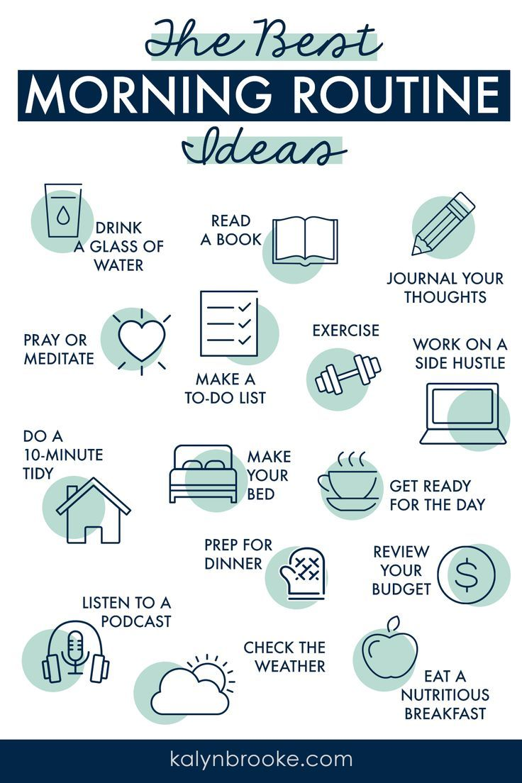 21 Of The Best Morning Routine Ideas You Need To Try Easy Morning Routine Good Morning Routine Self Care Activities