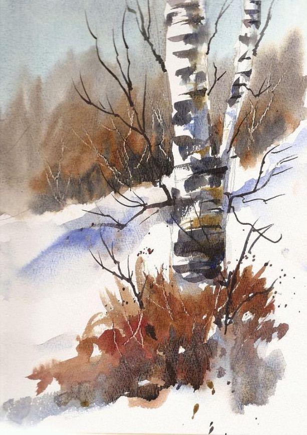 Edo Hannema Watercolorart 10 Minute Watercolor On Schut