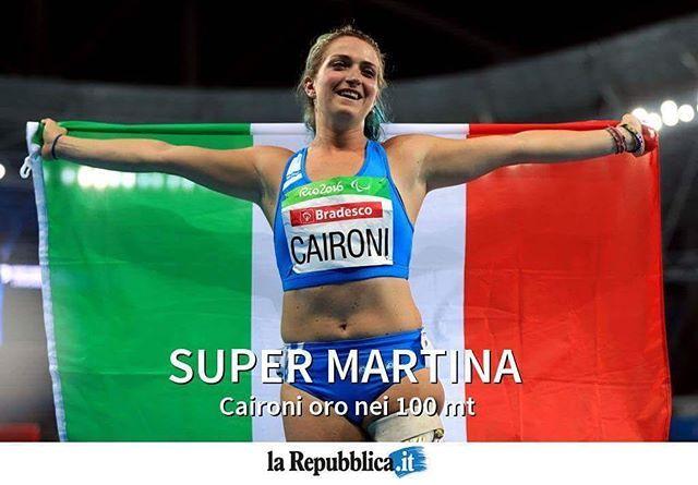 #Rio2016 #Paralimpiadi, Martina #Caironi oro nei 100 metri, bronzo per Monica #Contrafatto