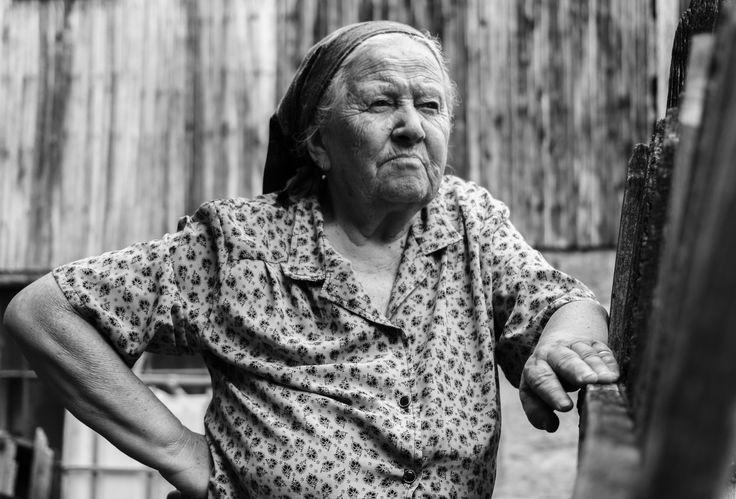 Portrait of my grandmother by Cîrstea Ionuţ Eduard on 500px