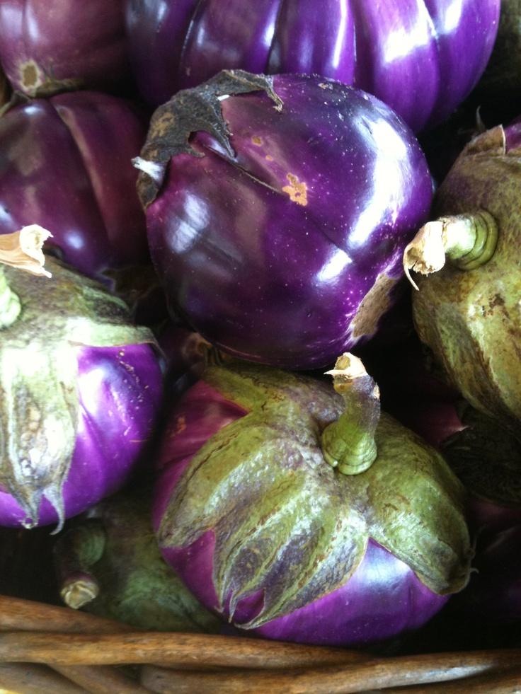 Eggplant, Greensboro Farmers Market #GSO BentTuba.com