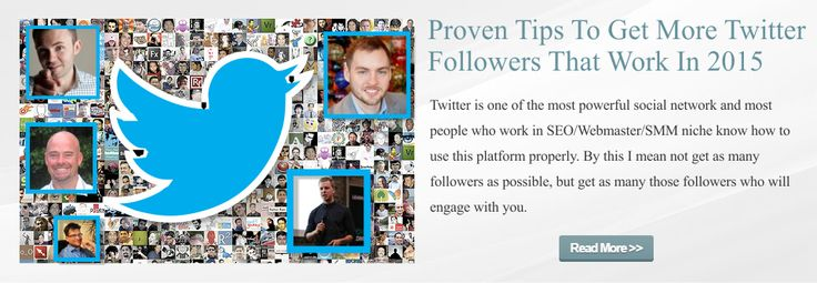 Proven Tips To Get More Twitter Followers That Work In 2015