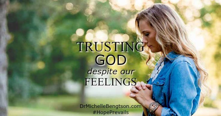 can we trust our emotions in Mankind shares psychological phenomena known as emotion that is a natural state of mind deriving from a person 1 by means of this special ability, trusting our.