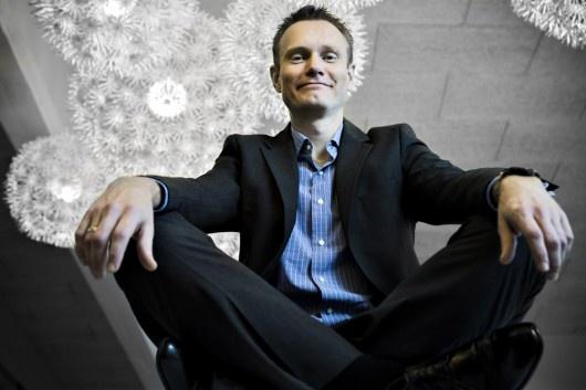 Opgør med støvede IT-systemer.  Jesper Essendrop, adm. direktør hos IT-virksomheden Schantz.