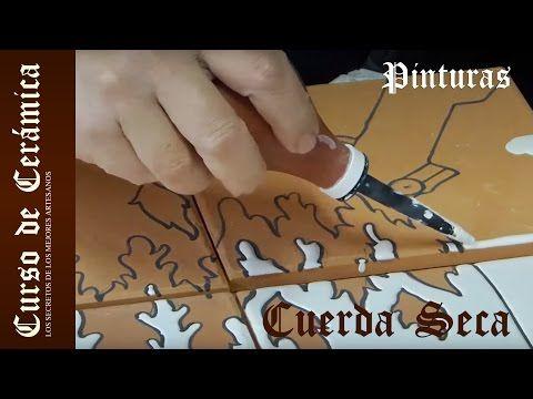 Curso de Cerámica - Preparar Esmaltes para Cuerda Seca - YouTube