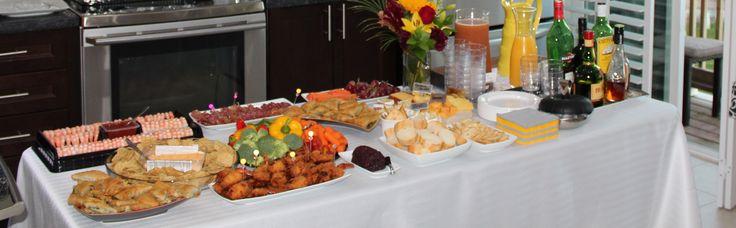 appetizers buffet