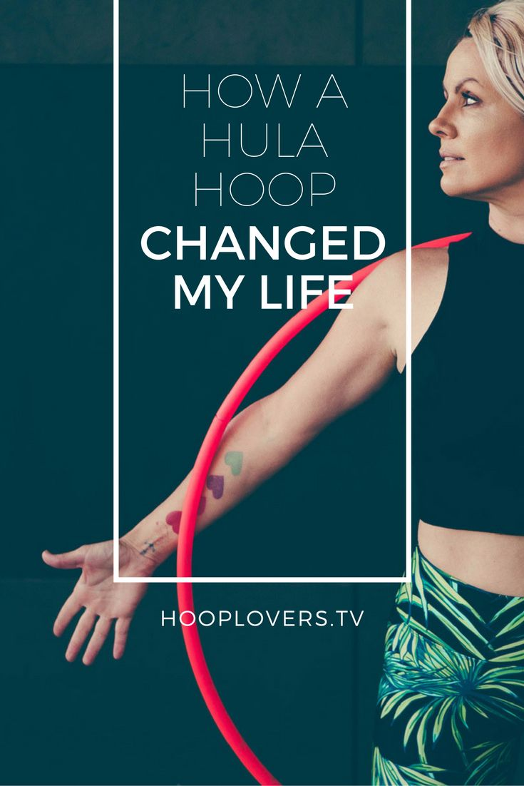 Need a change? I never imagined mine would come from a hula hoop.