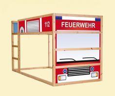 Kinderbett feuerwehr  25+ parasta ideaa Pinterestissä: Kinderbett feuerwehr