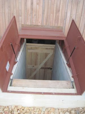 Our Root Cellar- Can you dig it? Building our root-cellar was easy! (Ha ha) Just follow these simple steps: