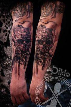 Black Diamond Tattoos on Pinterest | Diamond Tattoos Gold Tattoo and ...