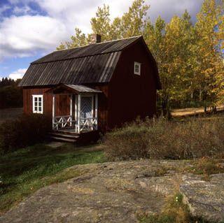 The author Aleksis Kivi's birthplace | Aleksis Kiven syntymäkoti (birthplace) ja linkki Kivi-sivustolle